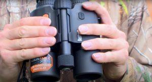 binoculars with rangefinder for hunting
