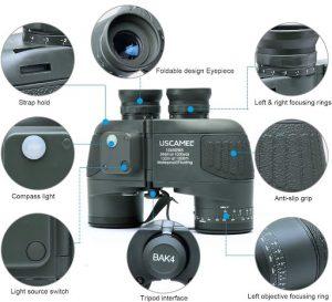 rangefinder binoculars for hunting