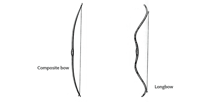 composite bow longbow design