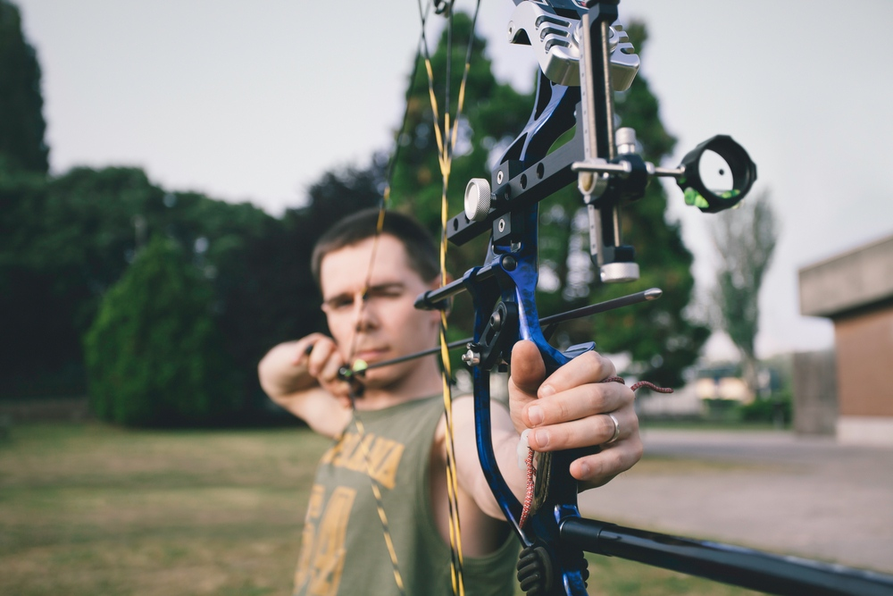 how to use compound bow sights
