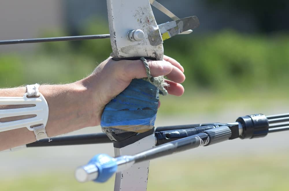 Bow with Stabilizers
