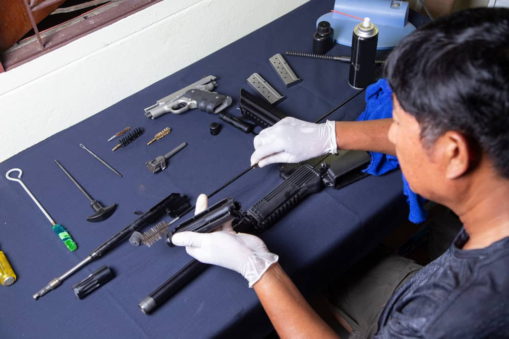 Inspect the Barrel Thoroughly : gun cleaning kit
