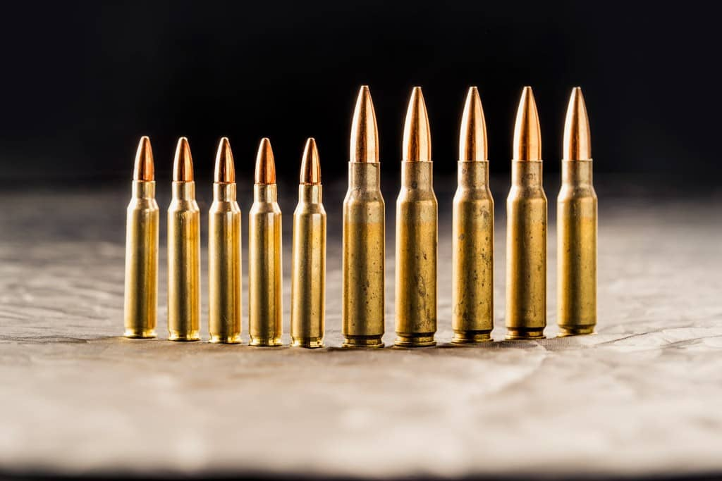 Common causes of misalignments- Ammunition