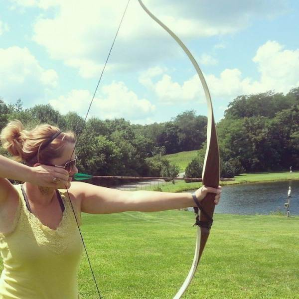 Aiming Recurve Bow With Bow Sight